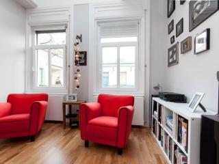 Fashionable high-ceiling luxury apt on top floor - Budapest vacation rentals