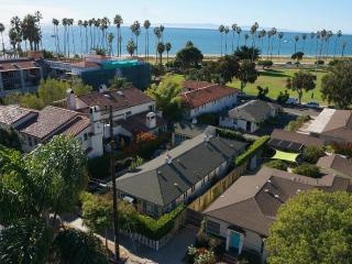 Steps From The Beach: Two Bedroom Santa Barbara cottage with ocean views - Santa Barbara vacation rentals