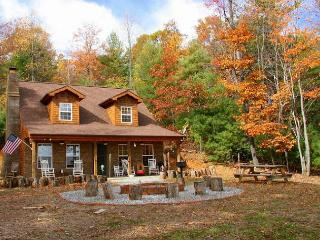 2 Miles off the Blue Ridge Parkway - Long Range Views - Fireplace - Sleeps 8 - Millers Creek vacation rentals