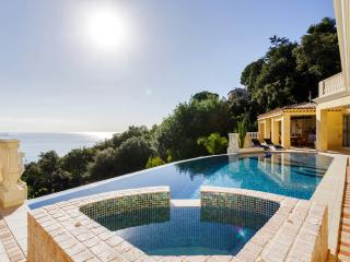 Hollywood villa up above the town of Golfe-Juan - Golfe-Juan Vallauris vacation rentals