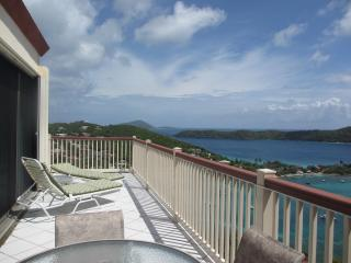 Best Panoramic views at resort. Wraparound deck. - Saint Thomas vacation rentals