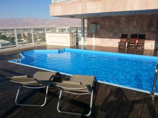 2-bedroom Penthouse with private pool - Eilat vacation rentals