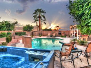 6 BDRM ESTATE-SLEEP 16 with HEATED* POOL-HOT TUB ❤️ Scottsdale's Best Location ! - Scottsdale vacation rentals