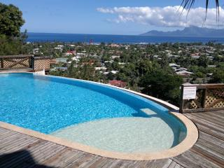 Quiet & comfortable apartment sea et Moorea view - Punaauia vacation rentals
