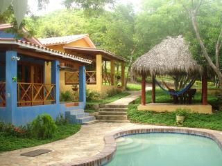 Colorful apartments for 4 with pool (Volcanes) - San Juan del Sur vacation rentals