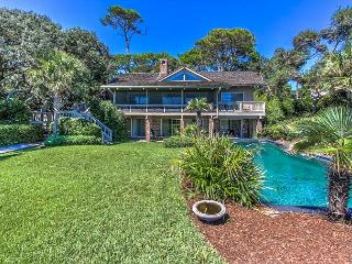 5 South Beach Lagoon - 5 Bedrooms & OCEANFRONT- Sleeps 10 - Hilton Head vacation rentals