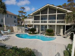 13 Dune Lane - Oceanfront with Large Screened Porch/4Bedroom - Hilton Head vacation rentals
