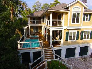 2 Quail-AVAIL TO RENT AS A 4, 5, 6 OR 7 BEDROOM till 5/9-FREE POOL/SPA HEAT - Hilton Head vacation rentals