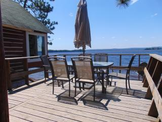 Relaxing Cedar Log Cabin with Beach and SW Views - Killaloe vacation rentals