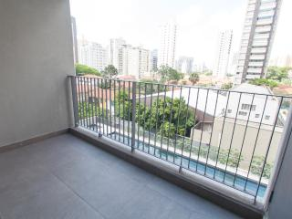 Bright Condo with Shared Outdoor Pool and Balcony - Sao Paulo vacation rentals