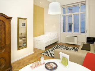 Homey apartment steps from Danube, near Parliament - Budapest vacation rentals