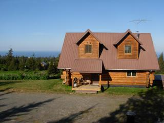 Acclaimed View Log Cabin, Panoramic Views - - Homer vacation rentals