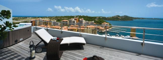 Villa Moonrise SPECIAL OFFER: St. Martin Villa 430 An Impressive 180 Degree View. - Cupecoy vacation rentals