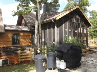 1850's Log Cabin, Historic Charm, Modern Amenities - Lake Guntersville vacation rentals
