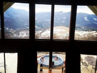 Million Dollar View / Amazing Cabin/ Hot tub/ Wifi - Jonas Ridge vacation rentals