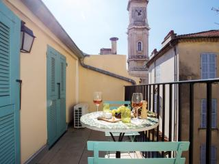 Charming terrace apartment Old Town - Nice vacation rentals