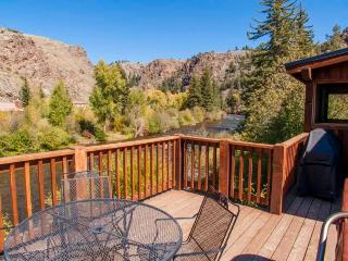 Gorgeous 4 BR Cabin on Taylor River With Private Hot Tub at Three Rivers Resort in Almont (#22) - Almont vacation rentals