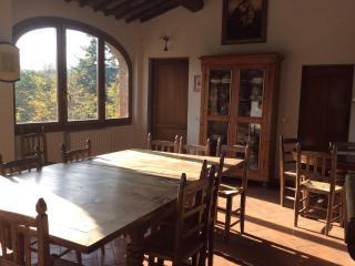 Quiet Tuscan apartment with 5 bedrooms in suburbs - Bucine vacation rentals