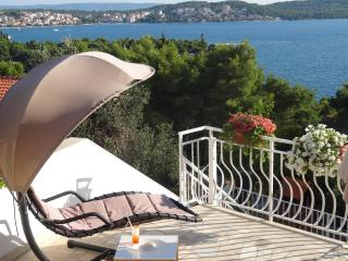 Big private terrace with grate seaview! Trogir  A1 - Trogir vacation rentals