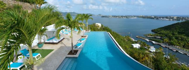 SPECIAL OFFER: St. Martin Villa 82 Spectacular Views In Terres Basses. - Image 1 - Terres Basses - rentals