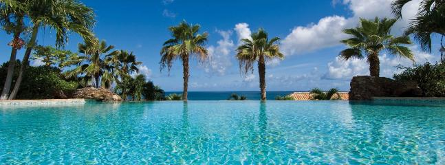 Villa Esprit De La Mer SPECIAL OFFER: St. Martin Villa 104 Enjoy A Terrace With Oversized Infinity Styled Pool And Spectacular V - Baie Rouge vacation rentals