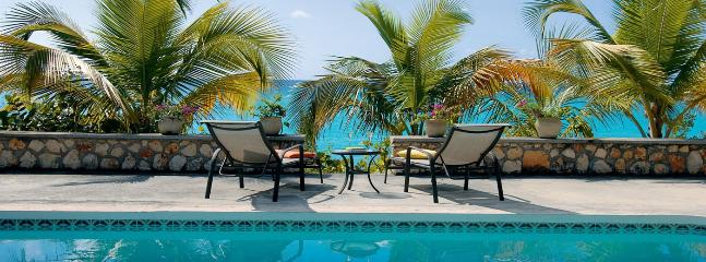 SPECIAL OFFER: St. Martin Villa 117 The Large Swimming Pool Is A Wonderful Place To Relax And Spend The Day Lounging. - Saint Martin-Sint Maarten vacation rentals