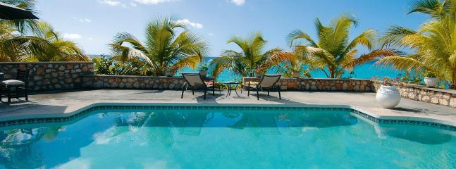 Baie Longue Beach House SPECIAL OFFER: St. Martin Villa 355 The Large Swimming Pool Is A Wonderful Place To Relax And Spend The  - Saint Martin-Sint Maarten vacation rentals