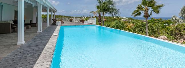 SPECIAL OFFER: St. Martin Villa 119 Located On A Hillside In Terres Basses, Villa 119 Has Superb Sunset Views Of La Samanna And Bay Longue. - Image 1 - Terres Basses - rentals