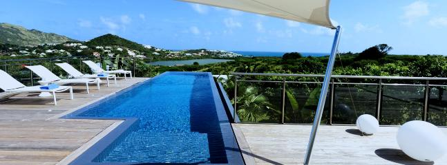 SPECIAL OFFER: St. Martin Villa 123 A Contemporary Style Villa Located Close To The Orient Bay Area, On A Hill Side With Views East To The Atlantic Ocean. - Image 1 - Hillside - rentals