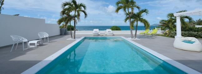 SPECIAL OFFER: St. Martin Villa 134 Modern With All The Amenities The Villa Has A Large Pool And Terrace With Un-obstructed View Of The Ocean. - Image 1 - Baie Rouge - rentals