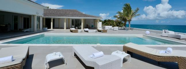 SPECIAL OFFER: St. Martin Villa 136 Located On One Of The Most Coveted Stretches Of Beach In St. Martin, On Baie Rouge. - Image 1 - Saint Martin-Sint Maarten - rentals