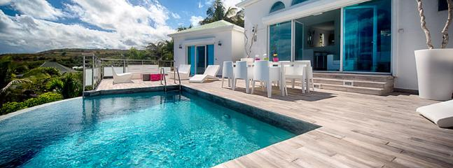 Villa Topaze SPECIAL OFFER: St. Martin Villa 152 A Lovely Sun Deck And Plunge Pool With Modern Luminous Patio Furniture. Enjoy A - Orient Bay vacation rentals
