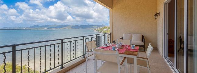 SPECIAL OFFER: St. Martin Villa 157 With 3 Waterfront Terraces, This 3 Bedroom Residence Has Incredible Views Over The Water Of  - Cupecoy vacation rentals