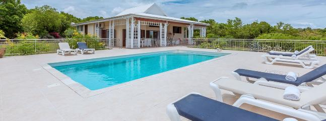 SPECIAL OFFER: St. Martin Villa 226 Within Minutes Walk To The Beautiful Beach Of Plum Bay. - Image 1 - Terres Basses - rentals