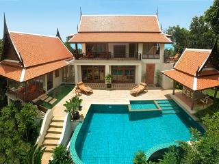 Ban Tawan, 3 Bedroom Luxury Sea View Holiday Villa - Mae Nam vacation rentals