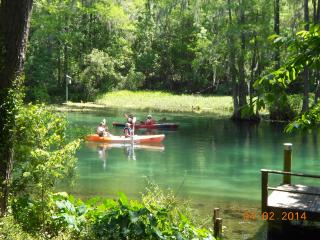 Rainbow River Home - Directly on Main River - Hernando vacation rentals