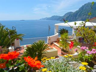 Terrazza magnificent villa in Positano parking - Amalfi Coast vacation rentals