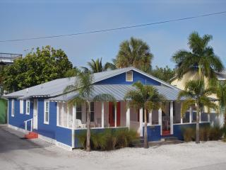 2-Unit Beach to Bay Cottage...NOT Grandma's place!...100 feet to beach! - Bradenton Beach vacation rentals