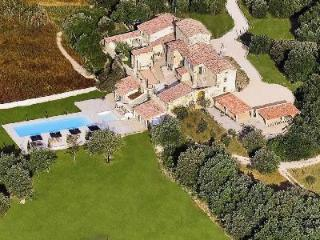 A Provencal Masterpiece! Villa Les Cavaliers features Saltwater Pools, Tennis Court & more! - Chamborigaud vacation rentals