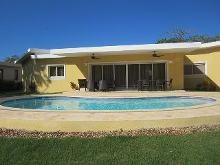 This 3-bedroom 3-1/2 baths, Television in every room! It has a big 11,000 gal pool facing south giving you great sun for the ent - Cabarete vacation rentals
