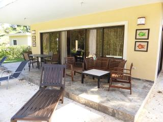 This two-bedroom,2-1/2 bath has a uniquely-styled pool with a view of the wooded ravine. Use the BBQ for your outdoor dining enjoyment. Professionally-decorated, tranquil and private. TV in each bedroom!(641) - Cabarete vacation rentals