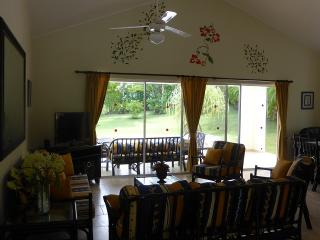 Large 4 bedroom villa!!!!!!!!!!! completely private!! This villa has just been redecorated now with safes and flatscreen tvs in  - Sosua vacation rentals