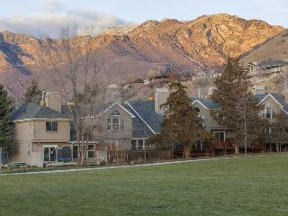 Condo w/ private hot tub; gas barbecue; mountain views; video games - Snowville vacation rentals
