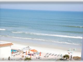 Ocean View Condo on the Beach - PeckPlaza 12BNW - Daytona Beach vacation rentals