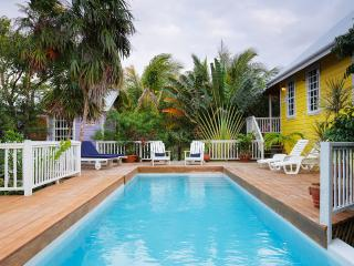 Weezie's Yellow Cottage 3 bedroom with a pool - Caye Caulker vacation rentals