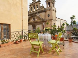 Apartment in old town with terrace and fireplace - Palermo vacation rentals