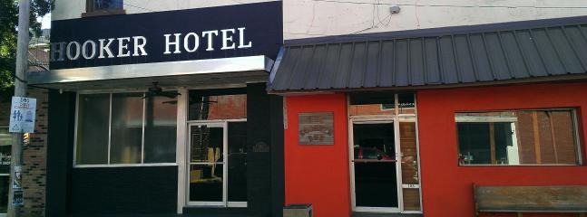 """Hooker Hotel & the Squeeze Box. Both the Squeeze Box and Delta Digs are sister properties to the HH - The Hooker Hotel- """"Unique, Cool & Spacious"""" - Clarksdale - rentals"""