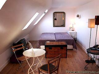 Cozy Central Right Bank Studio in Paris - Paris vacation rentals