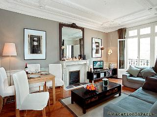 Arc de Triomphe with Views! Designer Two Bedroom - - Ile-de-France (Paris Region) vacation rentals