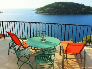 Spacious 2-bedroom apartment with amazing sea view - Vela Luka vacation rentals